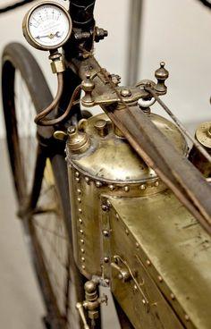 Gorgeous motorized bike