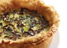 Bok Choy and Shiitake Quiche | Vegetarian Times