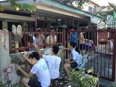 Painting with love along with Leos from Leo Club of Damansara (O) & Leo Club of City West (O).