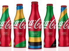 Think I need a coke to drink. Love this design.  london olympics, 2012 olympics, olympics