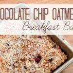 Chocolate+Chip+Oatmeal+Breakfast+Bars