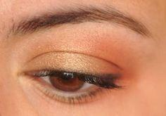 6/365 Days of Eyeshadow - gold/copper