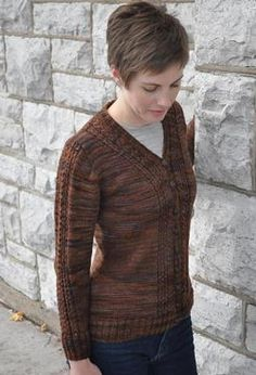 Anne's Cardigan by Kathy Broughton