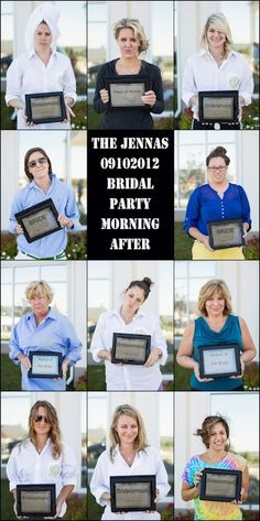 The North Shore Bride: Batchelorette Ideas and Inspiration - The morning after Mug Shot!