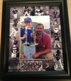 Jason's Father's Day picture. All pics from Brady's T-Ball season.