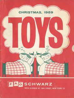 FAO Schwartz Christmas Toy Book, 1959.