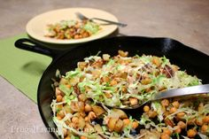 Another Meatless Menu Idea: Beans & Greens