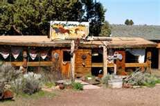 The Cowboy Dinner Tree Restaurant near Silver Lake...80 miles SE of Bend. Rustic charm, delicious food!!
