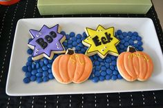 Cookies at a Monster Party #monster #partycookies