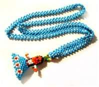 Native American Bead Dolls...