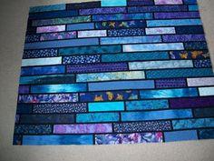 glass lasagna, color, blue, quilt patterns, glass strip