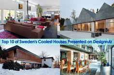 Top 10 of Sweden's Coolest Houses Presented on Designrulz