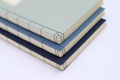 Classic Book Series by Jesper Olsson, Japanese stab binding