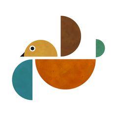 Bird print!    Aline for illustrations