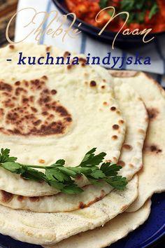 Kuchnia indyjska - chlebki naan