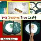 Create a 3-D Tree craft for fall, winter, spring, or summer. This craft teaches the cycle of the seasons and a seasonal cycle of a tree.