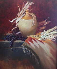 Ancient Treasure - Oil by Christine Hooker