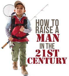 How to raise a modern day man - Parenting.com