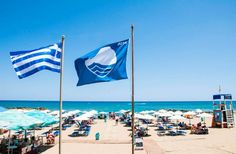 Greece's beaches ran