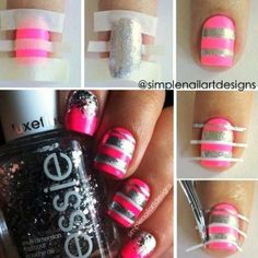 32 Delightful Nail Art Tutorials you should Try