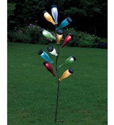 Solar Light bottle tree