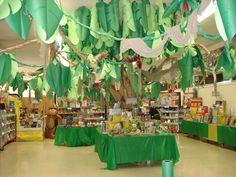 Schools go all out decorating their Book Fair each season!