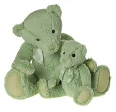 My First Charlie Bear, Meadow Green-MFCB14LMG  15.5 Inches Machine Washable Suitable for All Ages