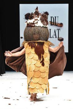 Paris' Parade of Dresses in Chocolate # 14
