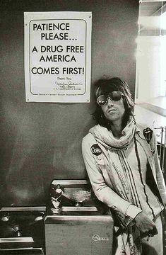 Keith Richards  Seattle, 1972