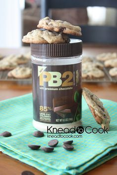 YAY! Finally a PB2 cookie recipe! Of course I will make this Gluten Free with Mama's Almond blend and Xanthan Gum.