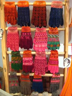 <3 Beautiful colorful Estonia textiles ~ I want to  visit the textile museum on the island of Muhu in Estonia and shop for colorful gifts to bring home.