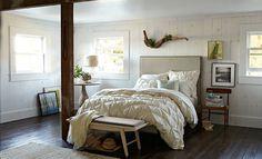 Beachy Cottage Bedroom | West Elm