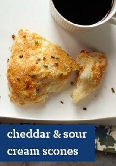 Cheddar & Sour Cream Scones