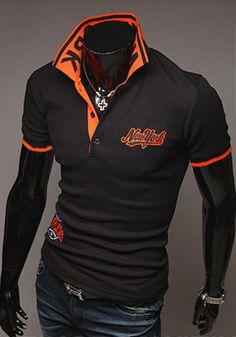 Casual Style Polo Shirt