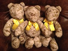 Military Cammie Bears by kB Crafting Solutions
