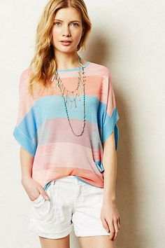 #Sol #Stripe #Pullover #Anthropologie