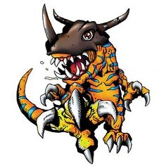 Greymon - Champion level Dinosaur digimon