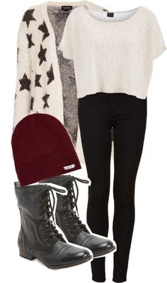 neff outfit, combat boot outfits, neff beanie outfit, combat boots outfits