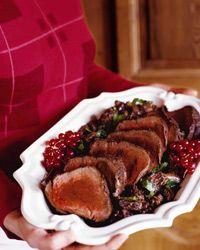 Roast Beef Tenderloin with Morel Cream Sauce Recipe on Food & Wine