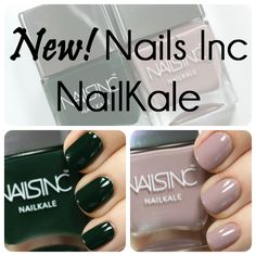 Nails Inc Nailkale swatches via @alllacqueredup