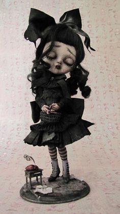By Julien Martinez #doll #goth #gothic