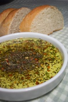 French Bread Dipping Oil #food #yummy #delicious