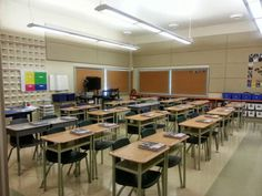 Middle School Classroom Reveal - a visual tour of a middle school classroom