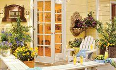 decor, the doors, decks, outdoor room, old houses, live room, porch, garden, sliding doors