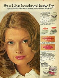 Yardley Pot o' Gloss. 1972.