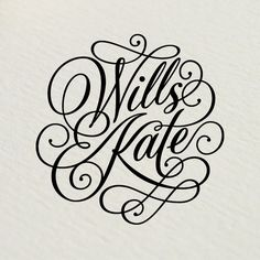 Wills Kate / Rob Clarke Typography