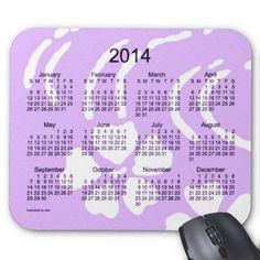 Purple Lotus Flower 2014 Calendar Mouse Pad Design from Calendars by Janz