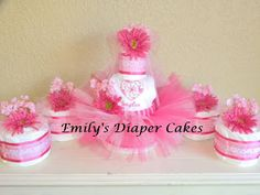 Diaper Cakes by Emily