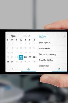 Calendar   Mobile Tuxedo {I'm in love with Any do!