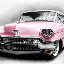 Pink Cadillac!